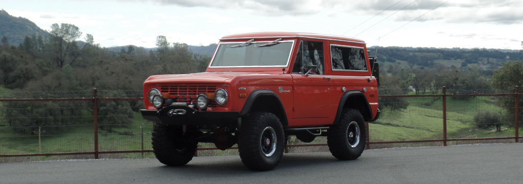 Ford Bronco Ford Bronco