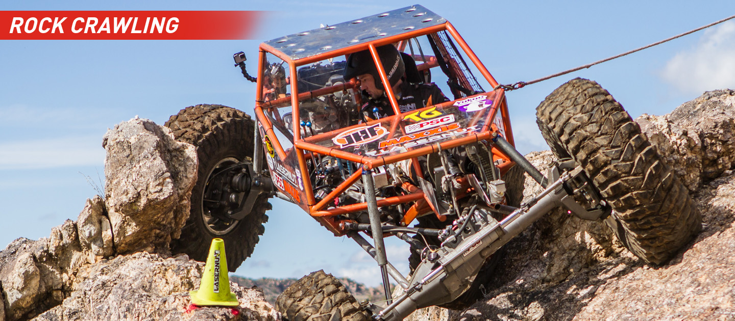 Rock Crawling Truck with Wilwood Brakes