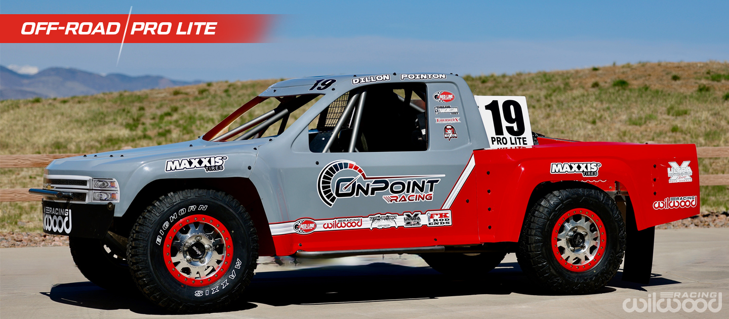 Pro Lite Short Course Racing Truck with Wilwood Brakes