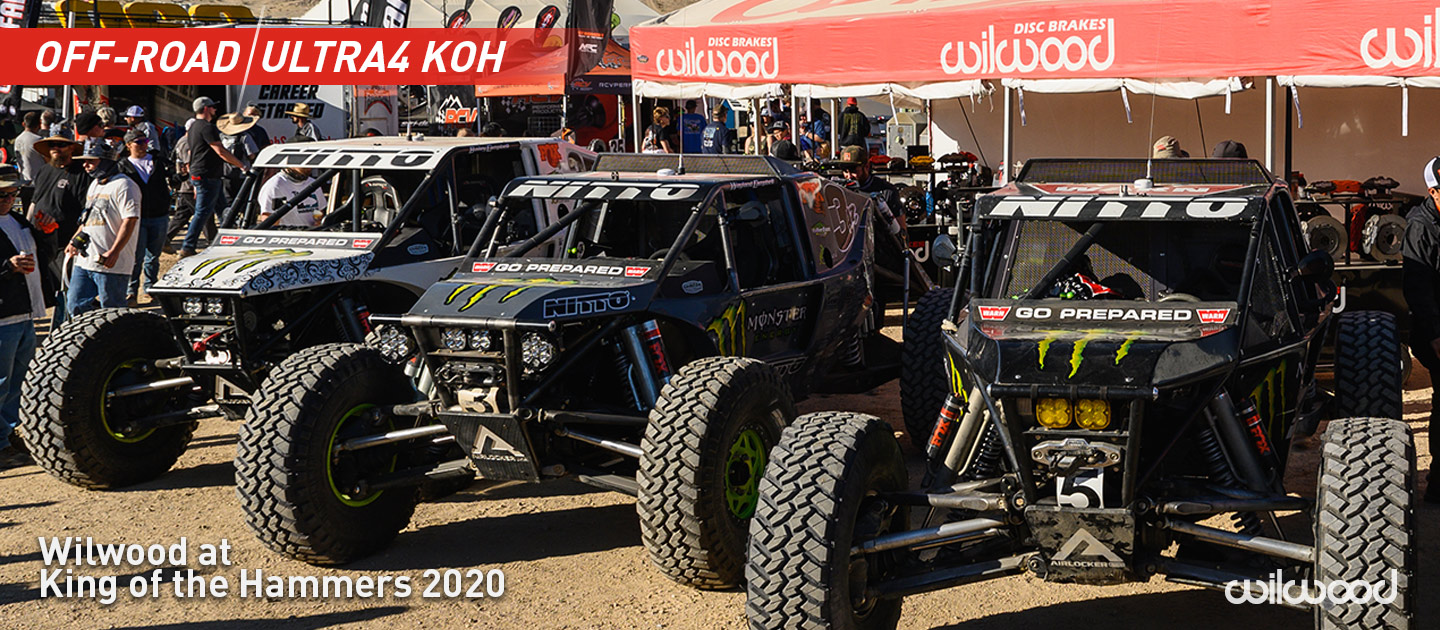 Wilwood Supporting King of the Hammers Event